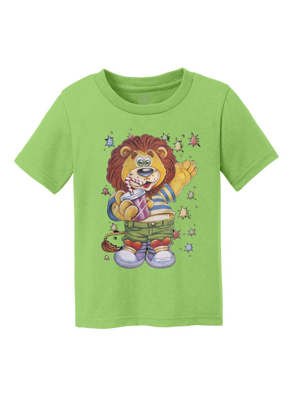 Lion Kid Youth Cotton T-Shirt