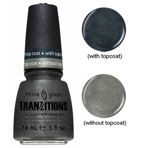CHINA GLAZE Nail Lacquer - Tranzitions - Metallic Metamorphosis