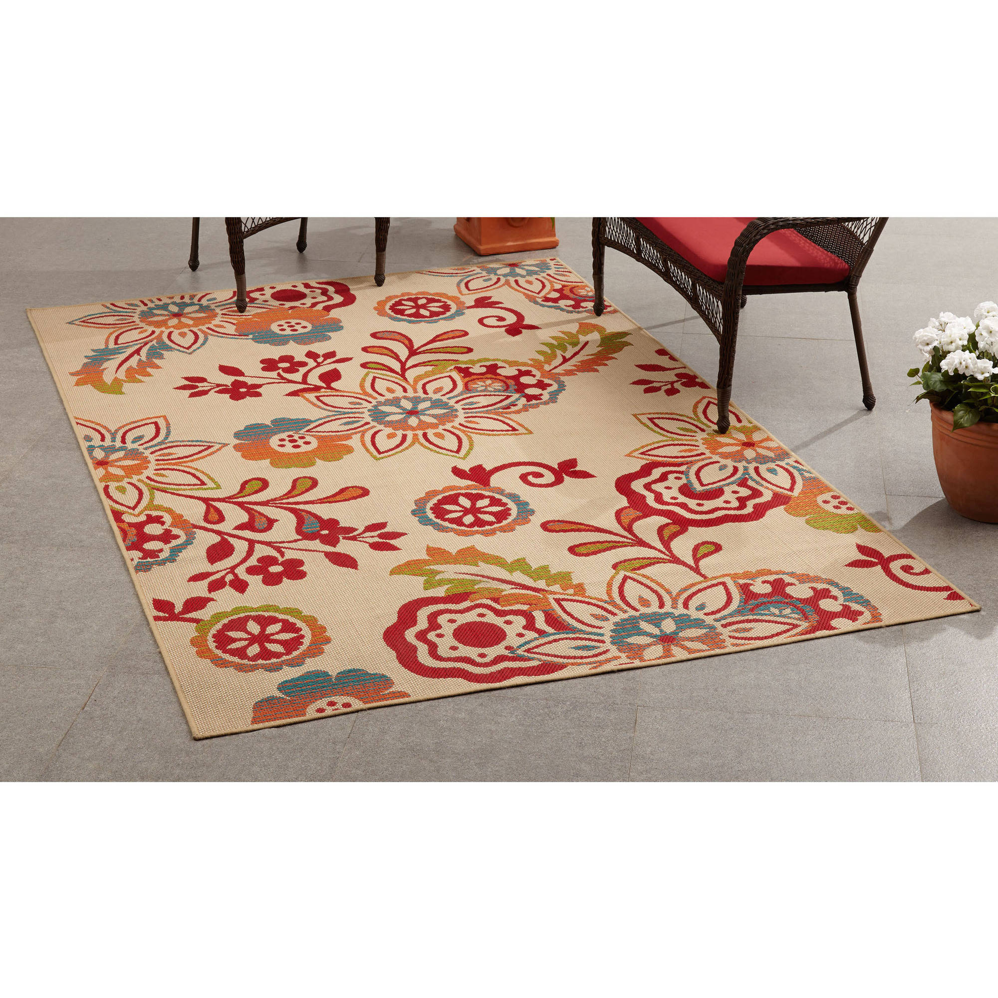 Mainstays Outdoor Rugs Walmart