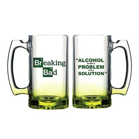 Breaking Bad Alcohol Solution Beer Mug