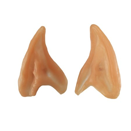 Small Elf Ears Pointed Ear Tips Prosthetic LARP Costume Cosplay Fairy Pixie - Halloween Teeth Prosthetics