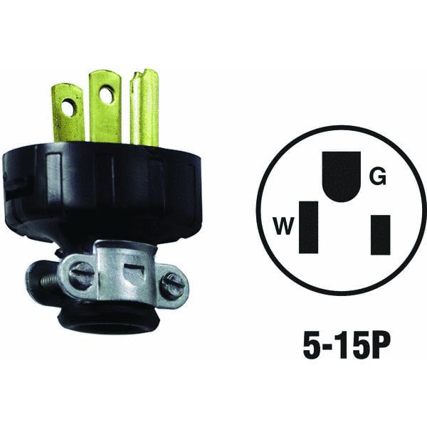 Leviton Heavy-Duty Cord Plug
