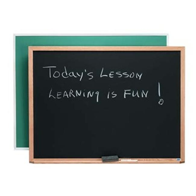 Aarco Products Aluminum Frame Composition Chalkboard