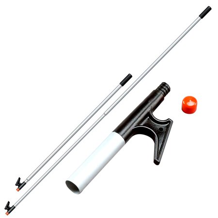 Davis 4122 2 Section Telescoping Boat Hook  Adjusts 53   To 96