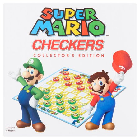Super Mario Collectors Edition Checkers Game Ages 6