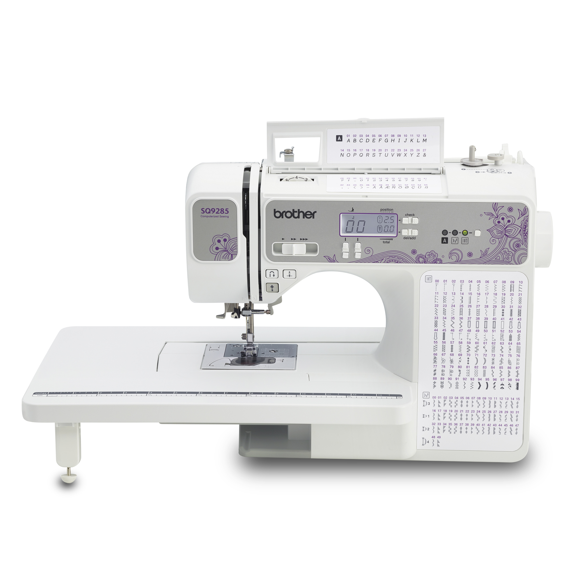 Brother SQ9285 150-Stitch Computerized Sewing & Quilting Machine with  Wide Table - Walmart.com