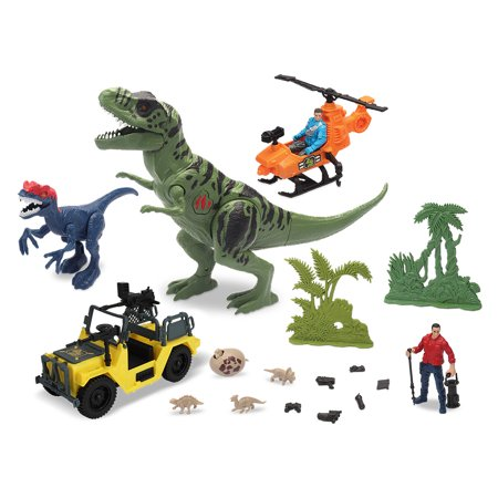 Kid Connection Dinosaur Attack Play Set, 22 Pieces