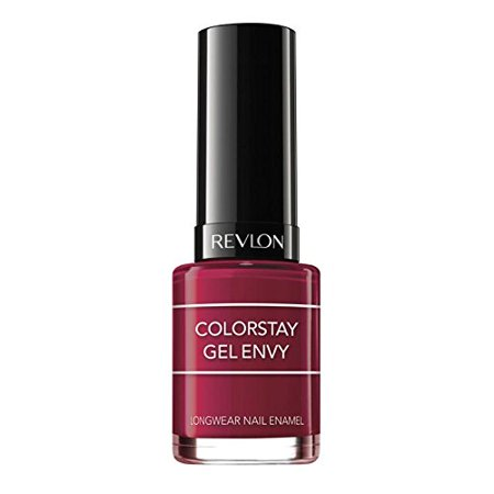 Revlon Colorstay Gel Envy Longwear Nail Enamel - Queen of Hearts (600) - 0.4 oz (Evy Queen)