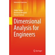 Dimensional Analysis for Engineers - eBook