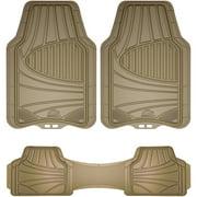 Armor All 3-Piece Full-Coverage Tan Floor Mat