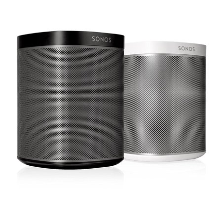 Sonos Play 1 Compact Wireless Multi Room Music Streaming Speakers Pair  Blk Wt