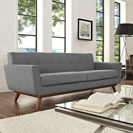 Modway Engage Upholstered Sofa, Multiple Colors Polyester Upholstered Sofa