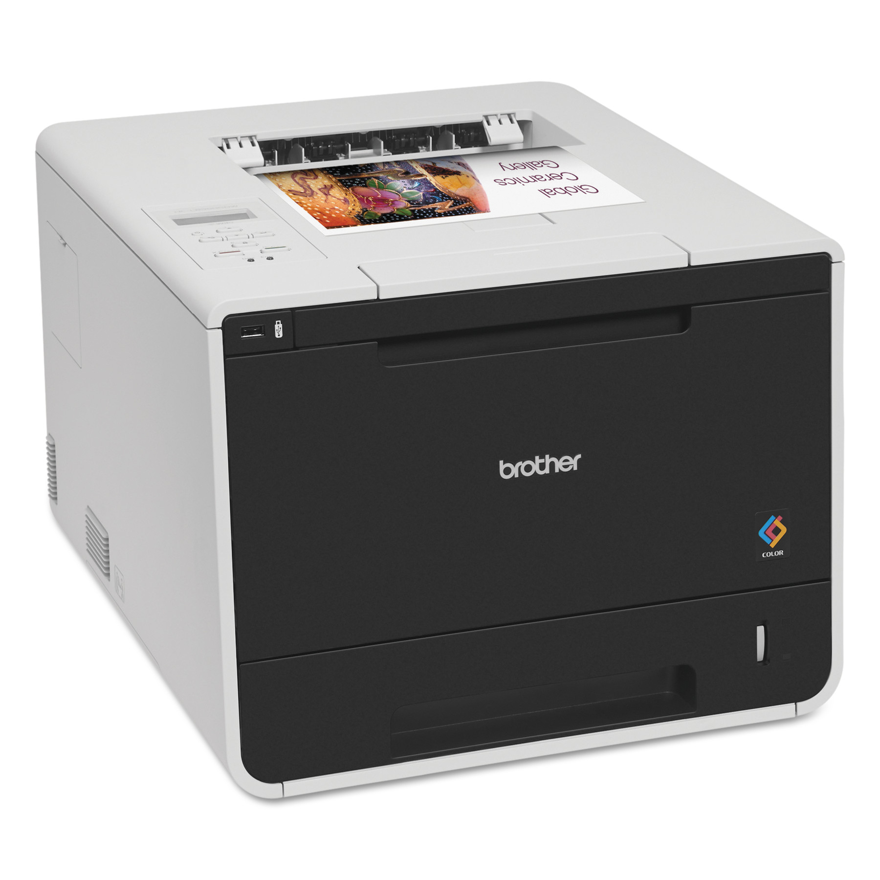 Brother HL-L8350CDW Color Laser Printer with Wireless Networking and Duplex by Brother
