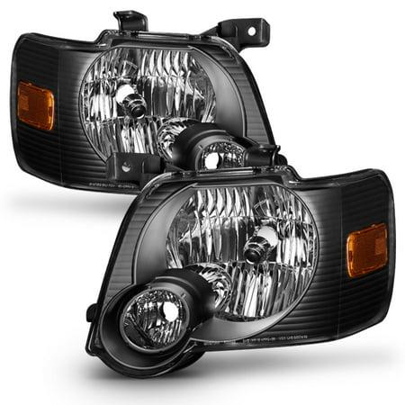 2007 Ford Explorer Engine (Fit 2006 2007 2008 2009 2010 Ford Explorer Black Headlights Lamps)