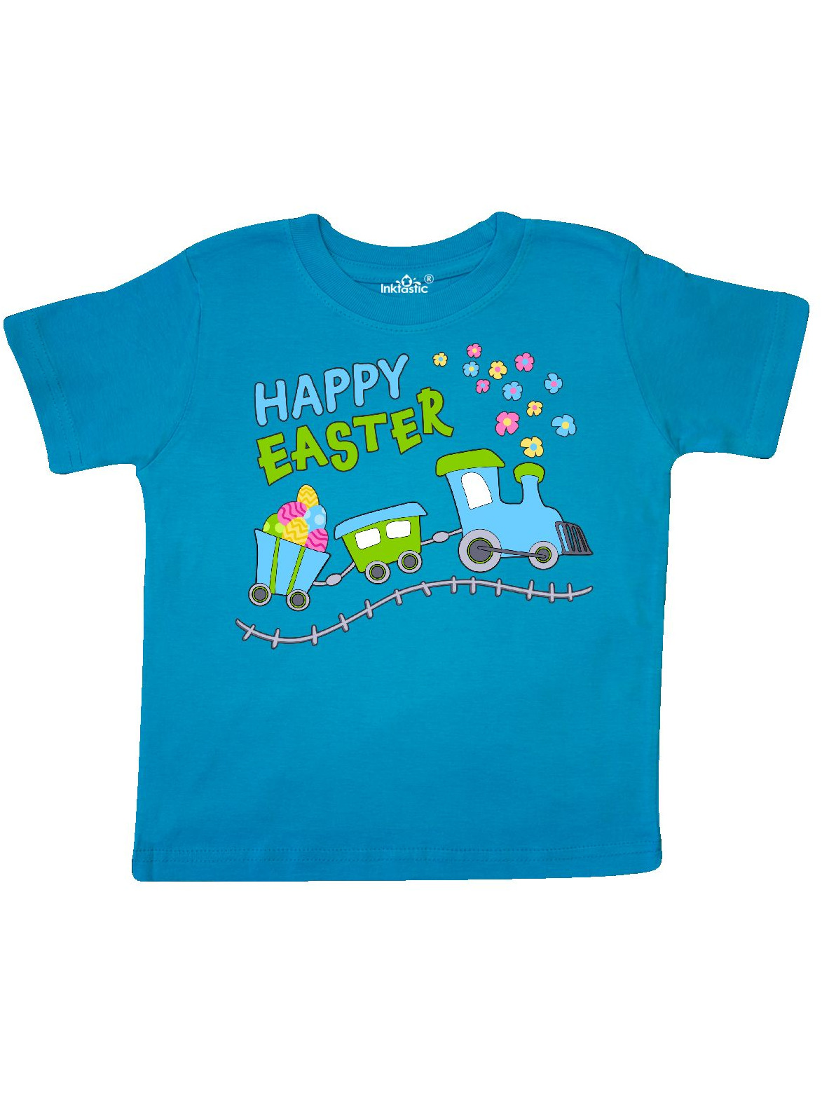Happy Easter Train Toddler T-Shirt