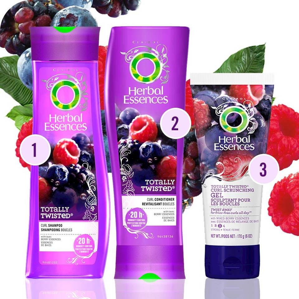 Herbal Essences Totally Twisted Hair Care Collection