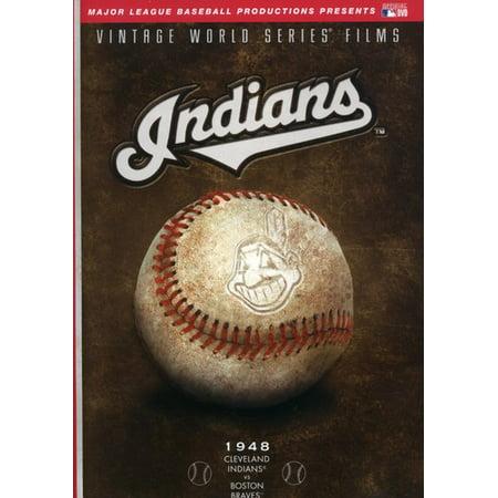 MLB: Cleveland Indians World Series 1948 ( (DVD)) Bob Feller Signed Baseball
