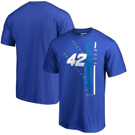Kyle Larson Fanatics Branded NASCAR Track Bar T-Shirt - Royal