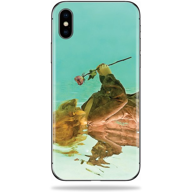 Skin Decal Wrap for Apple iPhone XS Max sticker Aqua Angel