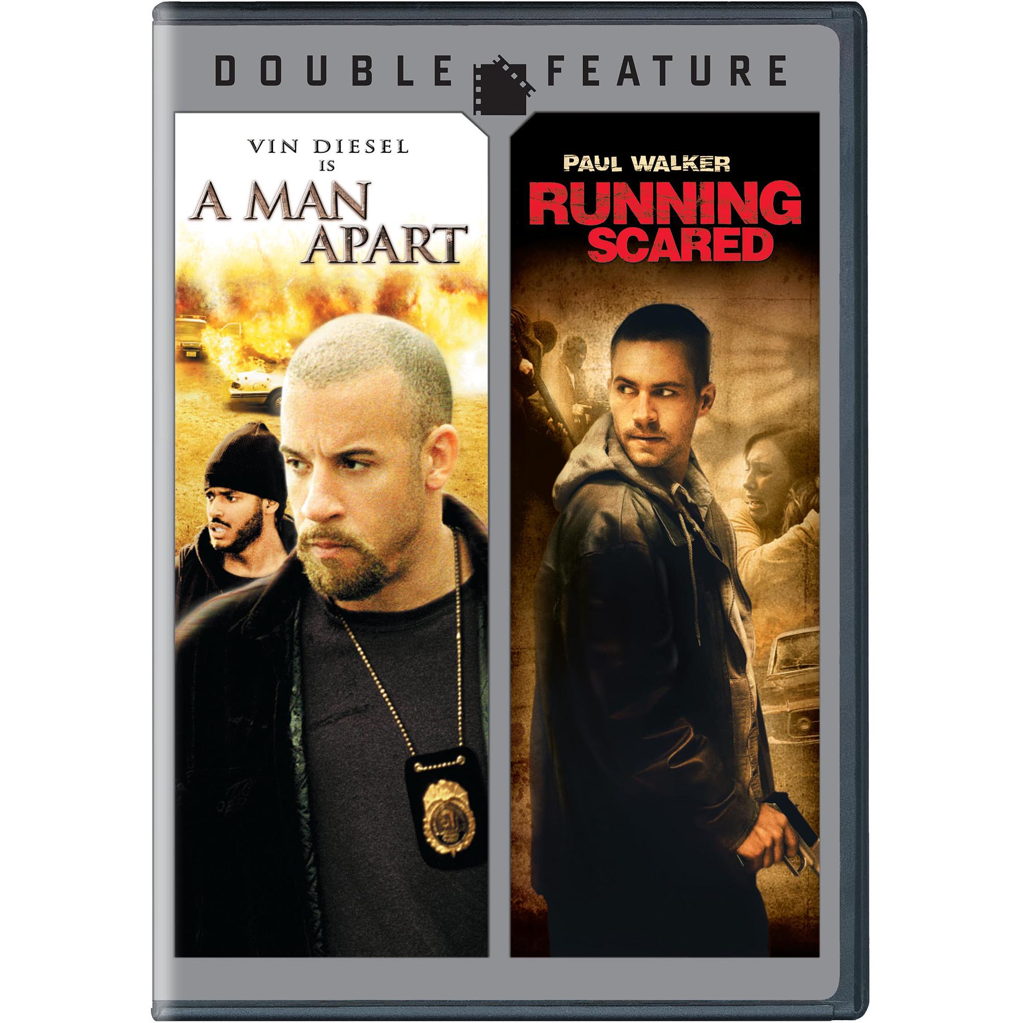 A Man Apart / Running Scared Double Feature