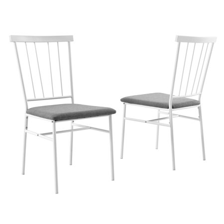 Surprising Mainstays Metal Spindle Back Dining Chair Set Of 2 Alphanode Cool Chair Designs And Ideas Alphanodeonline