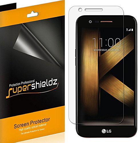 [6-pack] Supershieldz LG K20 Plus Screen Protector, Anti-Bubble High Definition (HD) Clear Shield