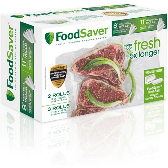FoodSaver Heat-Seal Vacuum Sealer Bag Roll