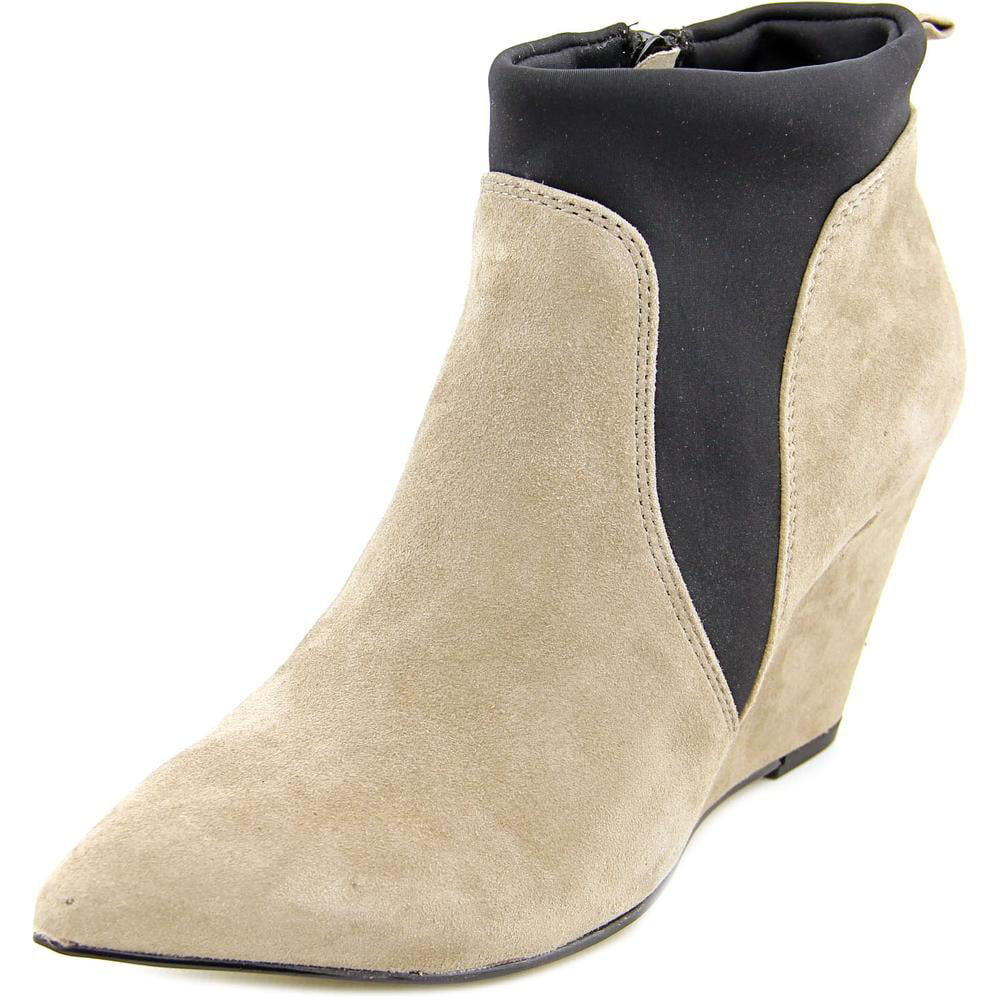 Bella Vita Deryn Women Pointed Toe Suede Ankle Boot by Bella Vita