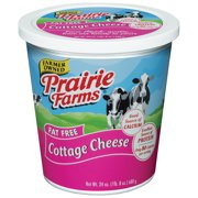 Prairie Farms Fat Free Cottage Cheese, 24 Oz.