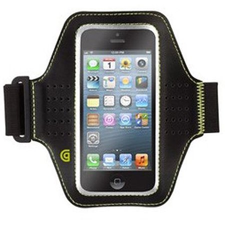 Griffin Armband - Griffin Trainer Sports Armband for iphone 5/5S/SE and iPod Touch Black