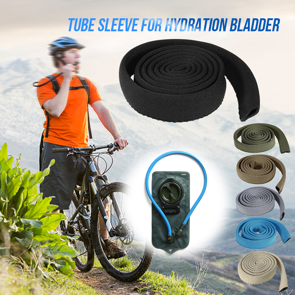 Bladder Bag Pack Hydration Water Hose Cover Drink Tube Cover Insulation Sleeve