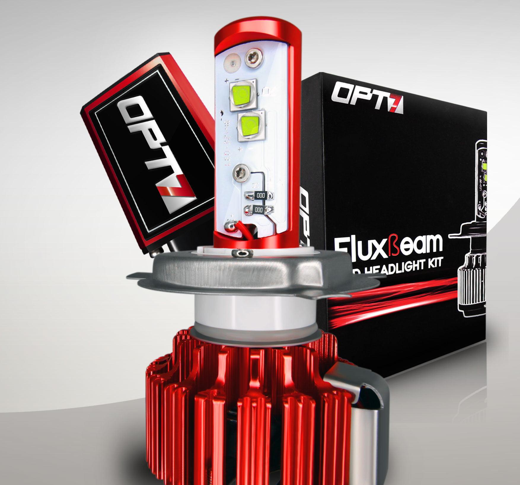 Opt7 Fluxbeam H13 Led Motorcycle Headlight Bulb Single