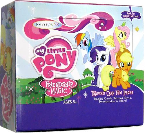Trading Cards Series 1 My Little Pony Series 1 Trading Card Box