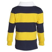 178a8bd5660d Sportoli - Sportoli Big Boys 100% Cotton Wide Striped Long Sleeve ...