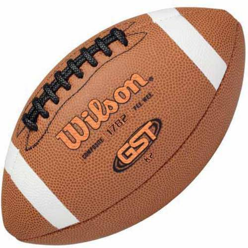 Wilson GST Composite Football, K2 by Athletic Connection
