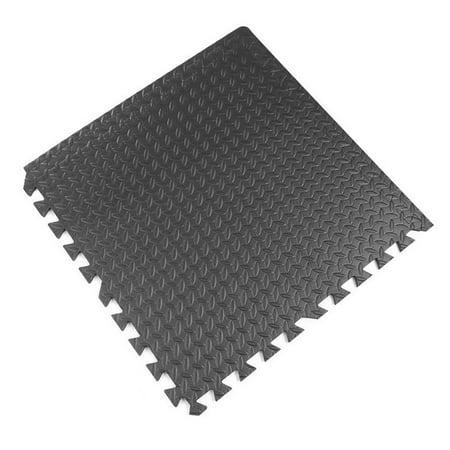 72sq Ft Foam Interlocking Exercise Protective Tile Flooring Gym