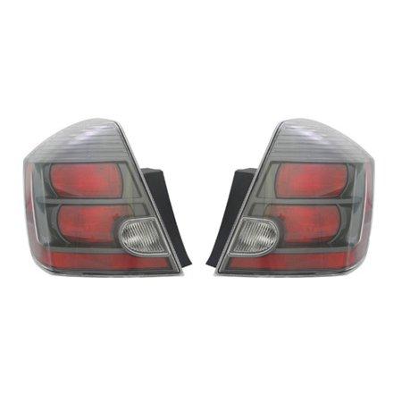 NEW TAIL LIGHT PAIR FITS NISSAN SENTRA SE-R SPEC V SR 2010 2011 2012 NI2801188 26550-ZT50B NI2800188 26550ZT50B 26555-ZT50B 26555ZT50B ()