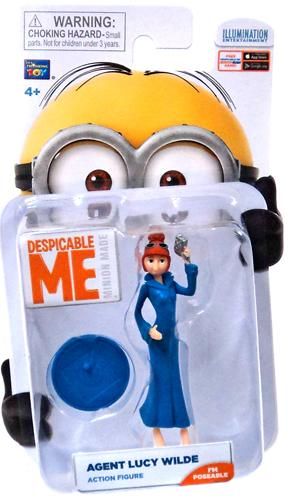 Despicable Me Minion Made Agent Lucy Wilde Mini Figure by
