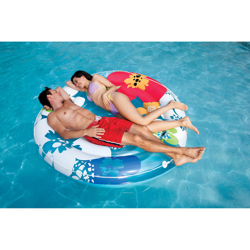 Intex Inflatable Flower Island Float Lounge