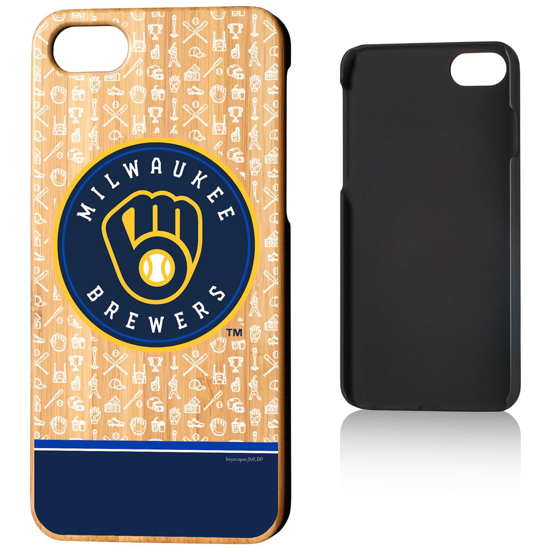 Milwaukee Brewers iPhone 7/8 Stripe Pattern Bamboo Case - Walmart.com