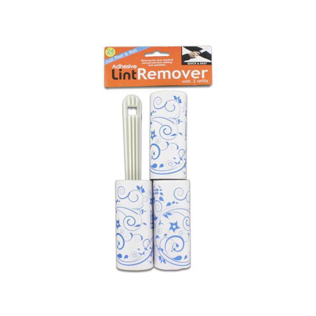 Lint remover set  3 pieces - Case of 24