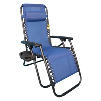 Backyard Expressions Sling Fabric Steel Anti Gravity Chair