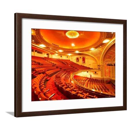 Interior of Regent Theatre, Dunedin, South Island, New Zealand Framed Print Wall Art By David Wall