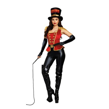 Dreamgirl Women's Lion Tamer Circus Costume Jumpsuit - Lion Tamer Costume Male