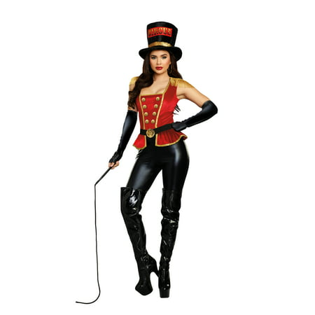 Dreamgirl Women's Lion Tamer Circus Costume Jumpsuit](Lion Tamer Costume Kids)