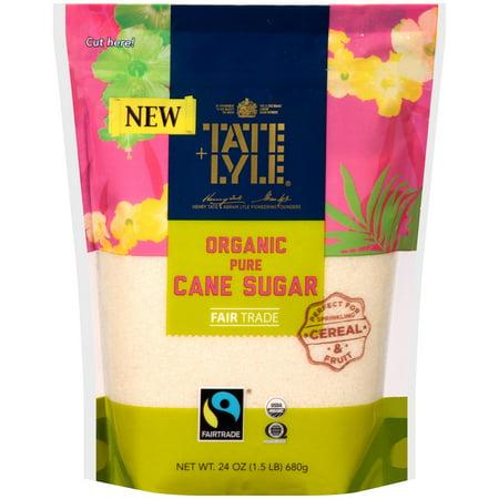 (3 Pack) Tate & Lyle Organic Pure Cane Sugar, 24 oz