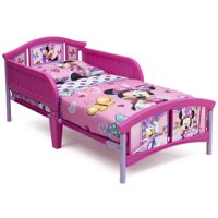 Deals on Disney Delta Children Disney Minnie Mouse Plastic Toddler Bed