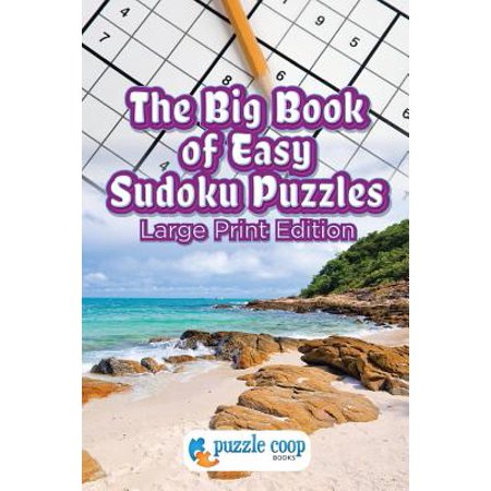 The Big Book of Easy Sudoku Puzzles (Paperback)