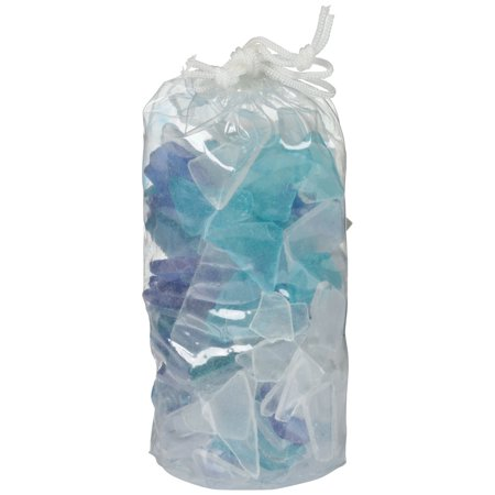 Akasha Beach Décor Ocean Sea Glass Bag, 34 - Beach Sea Glass Ring
