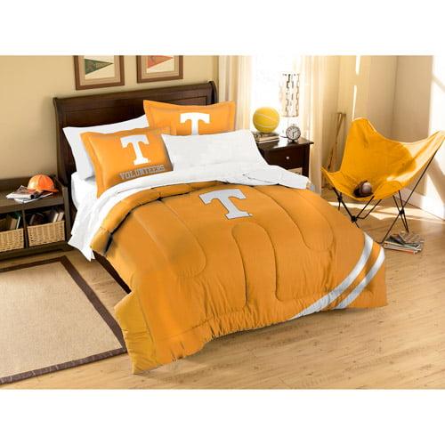 NCAA Applique 3-Piece Bedding Comforter Set, Tennessee